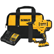 Dewalt #DCN681D1 20V Max XR 18 GA Cordless Narrow Crown Stapler Kit