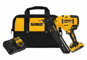Dewalt #DCN650D1 20V Max XR 15 GA Cordless Angled Finish Nailer Kit