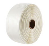 3/4 in. x 1,640 ft Woven Cord Strapping, 2,425 lb Linear Break/3,100 lb System Break