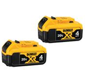 Dewalt #DCB204-2 20V Max XR Lithium Ion Battery 2-Pack
