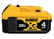 Dewalt #DCB204 20V Max XR Lithium Ion Battery Pack