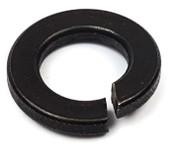 M5 DIN 127B Split Lock Washers Thru-Hardened Black Oxide (25,000/Bulk Pkg.)