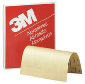 3M 3M Abrasive Production Paper Sheets, Aluminum Oxide Paper, 80 Grit, 1 EA