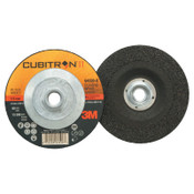 "3M Cubitron II Depressed Center Grinding Wheel, 4 1/2"", 1/4"" Thick, 5/8-11 Arbor, 20 CA, #7100103334"
