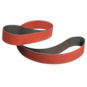 3M Cubitron II Cloth Belt, 1/2 in X 24 in, 60, 50 per Box, 200 CA, #7000119507