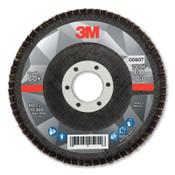 3M Flap Disc, 4.5 in x 7/8 in, 769F T29, 60+ Grit, 10 CA, #7100178027