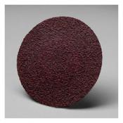 3M Roloc 361F Discs, 3 in Dia., 60 Grit, Aluminum Oxide, 50 EA, #7000119017