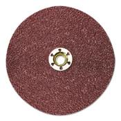 3M Cubitron II Fibre Discs 982C, Ceramic Grain, 7 in Dia., 36 Grit, 5/8 Arbor, 25 CT, #7000119162