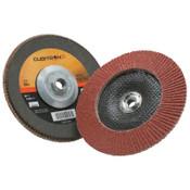 3M Cubitron II Flap Disc 967A, 7 in, 80 Grit, 5/8-11 Arbor, 8,600 rpm, Type 29, 5 CA, #7010363299