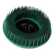 3M Scotch-Brite™ Radial Bristle Brush, 6 in D x 1/2 in W, 10,000 rpm, Grit 50, 1 EA, #7100138347