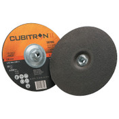 3M Cubitron II Cut & Grind Wheel, 9 in Dia, 10 BX, #7100019076
