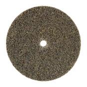 3M Scotch-Brite Deburr and Finish PRO Unitized Wheels, 3 Dia, 1/4 in Arbor, Ceramic, 40 CA, #7100053419