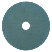 3M Burnish Pads, Polyester/Nylon, Aqua, 5 CA, #7000126177