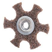 Merit Abrasives Surface Preparation Star 4 X 1/4-20 Very Fine, 1 EA, #8834185934