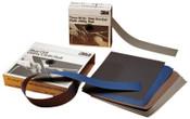 3M 3M Abrasive Hand Sanding Sheets, Aluminum Oxide Cloth, 320 Grit, 50 PK, #7000118257