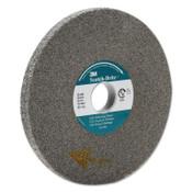 3M Scotch-Brite EXL Deburring Wheel, 9-SF, 6X1/2X1, Fine, 6000 rpm, Silicon Carbide, 1 EA, #7000046069