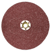 "3M Cubitron II Fibre Discs 987C, Precision Shaped Ceramic Grain, 4 1/2"" Dia/80 Grit, 100 CA, #7000119209"