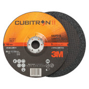"3M Cubitron II Depressed Center Grinding Wheel, 5"", 1/4"" Thick, 7/8"", 5/8-11 Arbor, 20 CA, #7100103025"