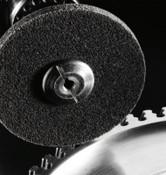 3M Scotch-Brite Cut and Polish Unitized Discs, 3 X 1/4, 18,100 rpm, Aluminum Oxide, 1 EA, #7000045847