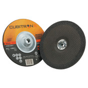 "3M Cubitron II Depressed Center Grinding Wheel/7 1/2"";1/4"" Thick/7/8"", 5/8-11 Arbor, 20 CA, #7100103317"
