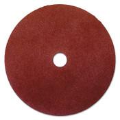 Anchor Products Resin Fiber Discs, 7 in Dia, 120 Grit, 7/8 in Arbor, 8,500 RPM, 25 PK