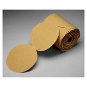 3M 348D PSA Cloth Discs, 20 in Dia., 60 Grit, Aluminum Oxide, 10 BOX