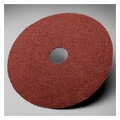 3M 381C Fibre Discs, Aluminum Oxide, 5 in Dia, 7/8 in Arbor, 80 Grit, 1 EA, #7000118942