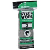 Red Devil Steel Wool, Medium Course, #2, 16 PK, #315