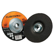 3M Cubitron II Cut & Grind Wheel, 4 1/2 in Dia, 1/8 in Thick, 7/8 in Arbor, 10 BX, #7100019243