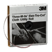3M 211K Utility Cloth Rolls, 2 in, 50 yd, 80 Grit, 1 EA, #7000118332