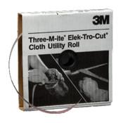 3M 211K Utility Cloth Rolls, 2 in, 50 yd, 80 Grit, 1 EA