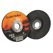 "3M Cubitron II Depressed Center Grinding Wheel, 4 1/2"", 1/4"" Thick, 7/8"" Arbor, 20 CA, #7100086894"