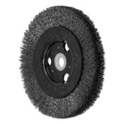 Advance Brush Narrow Crimped Wire Wheel Brush, 4 D x 1/2 W, .006 Stainless Steel, 12,500 rpm, 2 BOX, #80344