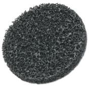 3M Scotch-Brite Roloc Coating Removal Disc TR, Extra Coarse, Silicon Carbide, Black, 3 in dia, 1 EA, #7000046009