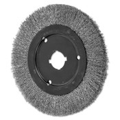 Advance Brush Narrow Face Crimped Wire Brush, 8 D x 3/4 W, .012 Stainless Steel, 6,000 rpm, 2 BOX, #80497