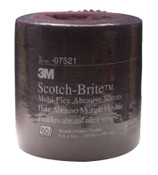 3M 3M Abrasive Scotch-Brite Multi-Flex Sheet Rolls, Aluminum Oxide, Very Fine, 1 EA, #7000120922