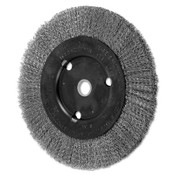 Advance Brush Narrow Face Crimped Wire Brush, 8 D x 5/8 W, .012 Stainless Steel, 6,000 rpm, 2 BOX, #80491