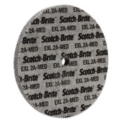 3M Scotch-Brite EXL Unitized Deburring Wheel, 6 X 1/2, Medium, Aluminum Oxide, 1 EA, #7000046028