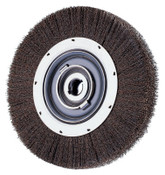Advance Brush Medium Crimped Wire Wheel Brush, 6 D x 1 1/16 W, .012 Carbon Steel, 6,000 rpm, 1 EA, #81115