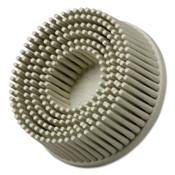 3M Scotch-Brite Roloc Bristle Discs, 1 in Dia, 5/8 in Arbor, Aluminum Oxide, 1 EA, #7000000740