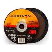 3M Cubitron II Depressed Center Grinding Wheels, Ceramic, 6 in Dia, 7/8 in Arbor, 20 CA, #7100094061