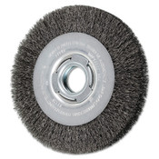 Advance Brush Medium Crimped Wire Wheel Brush, 7 D x 31/32 W, .012 Carbon Steel, 6,000 rpm, 1 EA, #81121