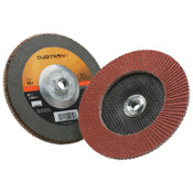 3M Cubitron II Flap Disc 967A, 7 in, 60 Grit, 5/8-11 Arbor, 8,600 rpm, Type 27, 5 CA, #7100055056
