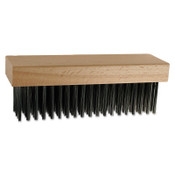 Advance Brush Block Brushes, 4 1/2 in, 5 X 10, Carbon Steel, 12 EA, #85081