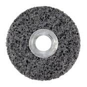"3M Scotch-Brite Clean and Strip Unitized Wheels, 6"" Dia, .5"" Arbor, Silicon Carbide, 1 EA, #7010294769"