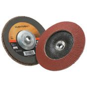 3M Cubitron II Flap Disc 967A, 7 in, 40 Grit, 5/8 in Arbor, 8,600 rpm, Type 29, 5 CA, #7010363298