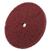 3M Scotch-Brite High Strength Discs, 6 X 1/2, 4,000 rpm, Aluminum Oxide, Very Fine, 10 CT, #7000120987