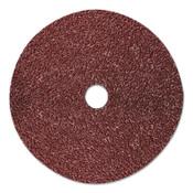 3M 782C Fibre Discs, Ceramic, 5 in Dia, 7/8 in Arbor, 36+ Grit, 100 CA, #7100099571
