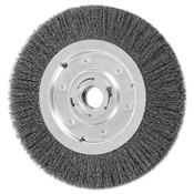 Advance Brush Medium Face Crimped Wire Wheel Brush, 10 D, .014 Carbon Steel Wire, 3,600 rpm, 1 EA, #81134