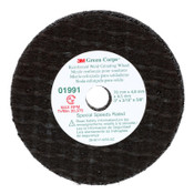 3M Green Corps Reinforced Weld Grinding Wheels, 3 in x 3/16 in, Coarse, 20,375 rpm, 5 PK, #7100210692